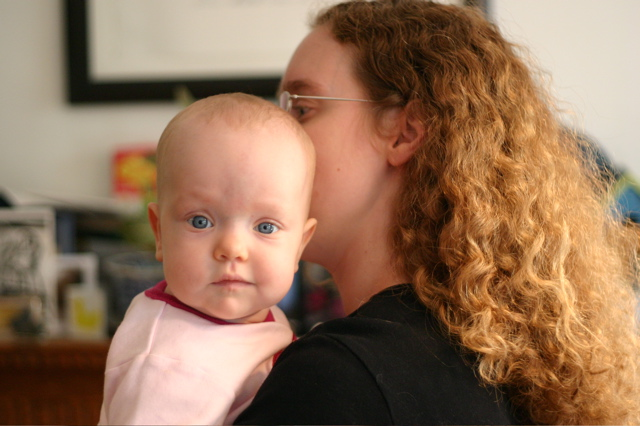 Looking at Daddy