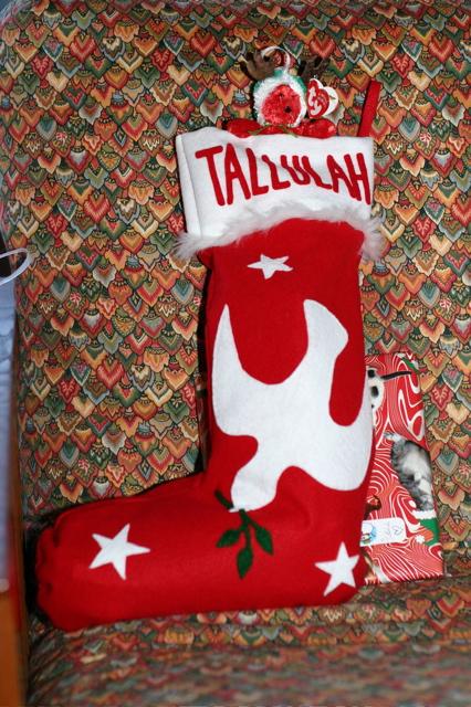 Mommy Made Lula's Stocking
